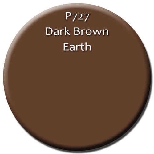 P727 Dark Brown Earth Weathering Pigment